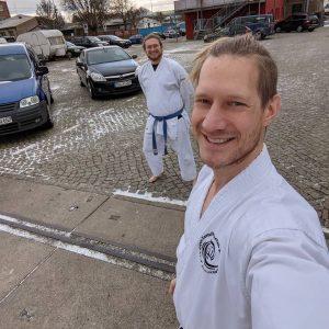 Karate im Winter KKZB